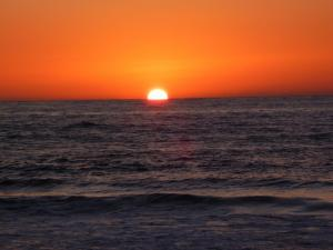 foto di tramonto tramonto Tramonto in Sicilia da Erice Mare (TP)