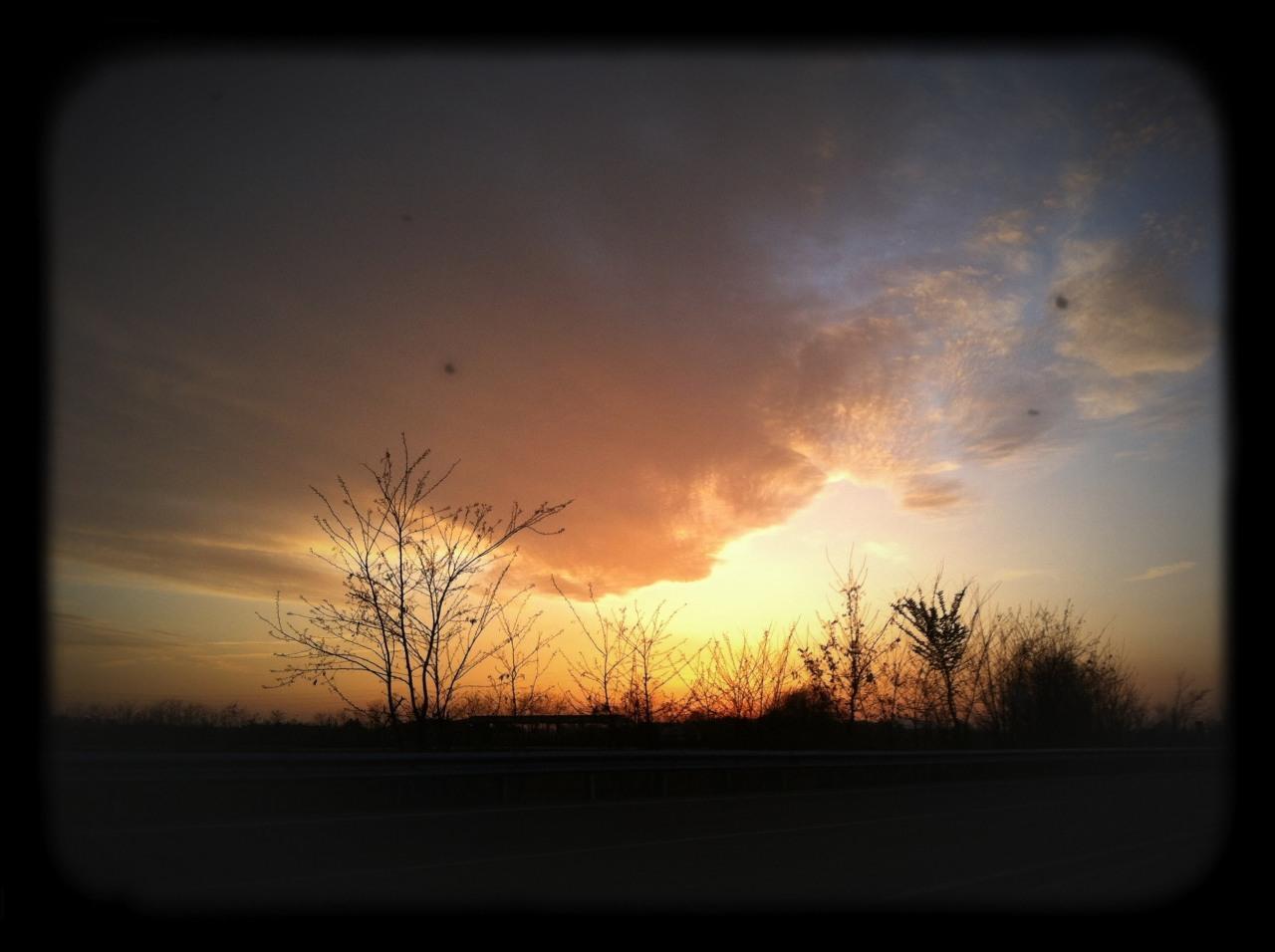 tramonto gussago brescia foto di tramonti foto di campagna nuvole al tramonto