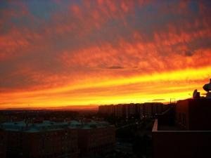 tramonto in un tramonto da Madrid….by Robby, tramonto immagini, foto tramonto, foto al tramonto